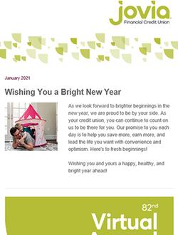 Bright Ideas January 2021